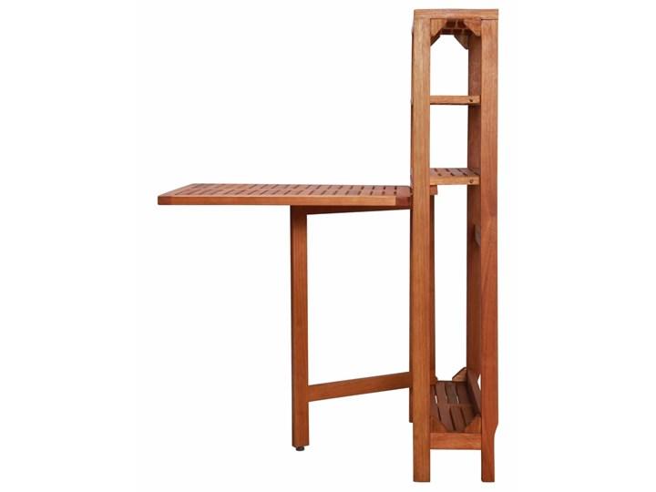 Zestaw drewnianych mebli ogrodowych - Jill Stoły z krzesłami Kategoria Zestawy mebli ogrodowych Drewno Kolor Brązowy