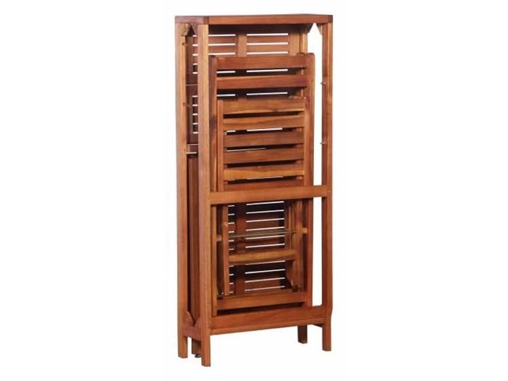 Zestaw drewnianych mebli ogrodowych - Jill Stoły z krzesłami Drewno Kategoria Zestawy mebli ogrodowych