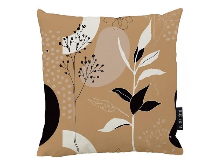 Poduszka z poszewką z bawełny Butter Kings Autumn Vibe, 45x45 Kwadratowe 45x45 cm Bawełna Poduszka dekoracyjna Poszewka dekoracyjna Kolor Brązowy Kategoria Poduszki i poszewki dekoracyjne