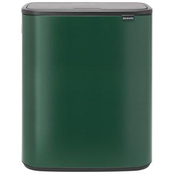 Kosz na śmieci Touch Bin BO 2x30L zielony Pine Brabantia