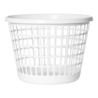Kosz na pranie PLAST TEAM Diamond 10090800 32L Biały