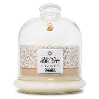 Świeczka z wosku sojowego We Love Candles Elegant Simplicity, 72 h