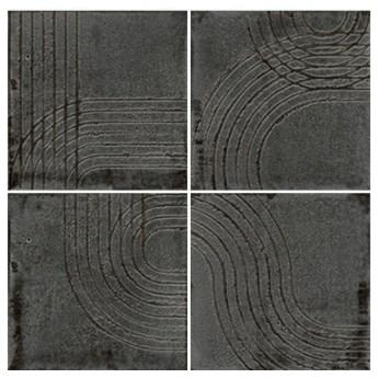 Enso Wabi Graphite 12,5x12,5 płytki ścienne