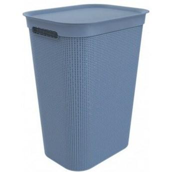 Kosz na pranie ROTHO 1023506161 50L Błękitny