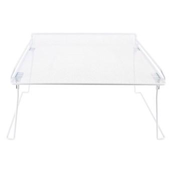Biała rozkładna półka do szafy na ubrania Compactor Stackable Rack