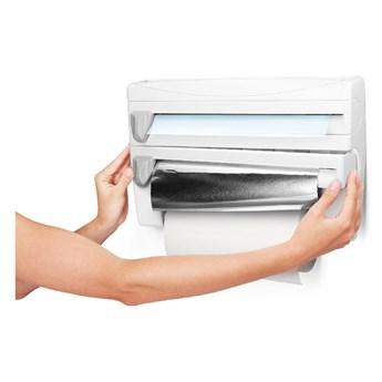 Uchwyt na folie i ręczniki papierowe Metaltex, dł. 38 cm