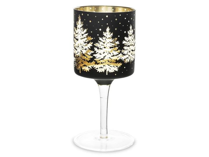 Czarny świecznik - kielich Foler 20 cm Kategoria Świeczniki i świece