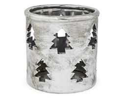 Srebrny lampion świąteczny Hoh 11 cm