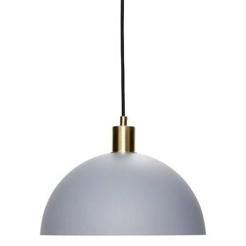 Lampa wisząca Hübsch CLASSIC mosiężna,szara