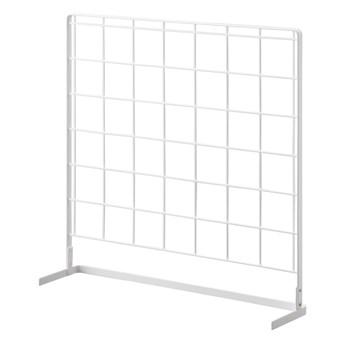 Biały kuchenny organizer-kratka YAMAZAKI Tower Grid, 52x52 cm