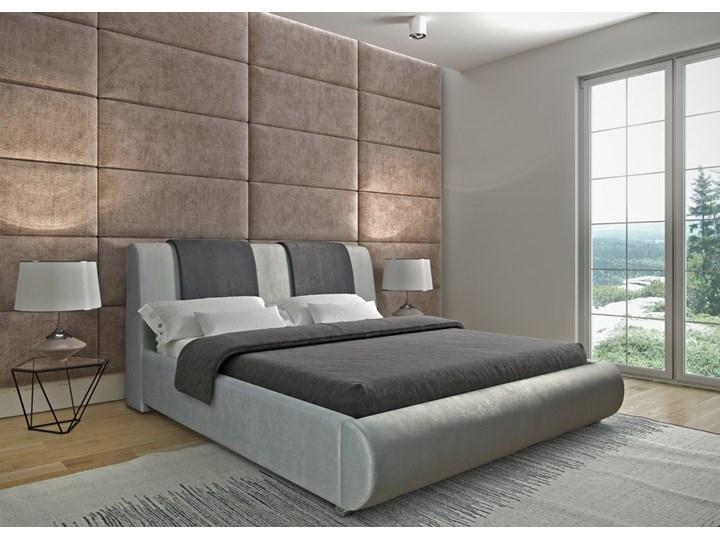 Łóżko Silver new design tapicerowane Łóżko tapicerowane Rozmiar materaca 140x200 cm
