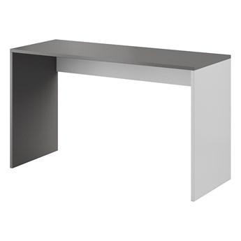Biurko MONO 03 szary / aluminium / czarny WYPRZEDAŻ MAGAZYNOWA