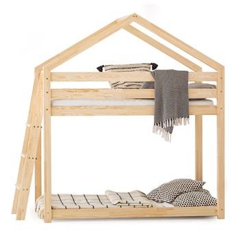 Drewniane łóżko piętrowe MONKEY #personalizuj