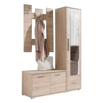 Garderoba HITO Sonoma z lustrem