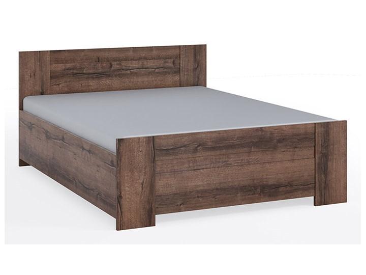 Łóżko z pojemnikiem BONO 160 dąb monastery