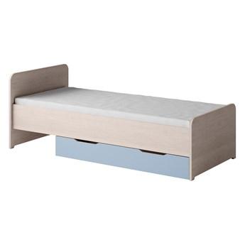 TN14 łóżko 90x200 TENUS santana / niebieski