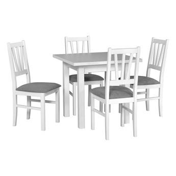 Stół MAX 7 + krzesła BOS 5 (4szt.) - zestaw DX3.