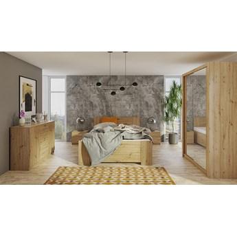 Sypialnia BONO 1 dąb artisan