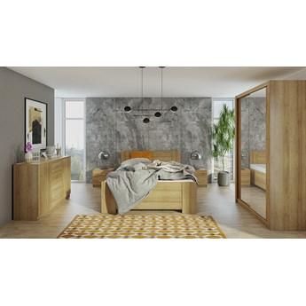 Sypialnia BONO 1 dąb złoty
