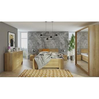 Sypialnia BONO 2 dąb złoty