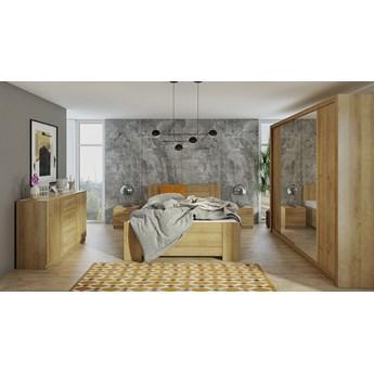 Sypialnia BONO 5 dąb złoty