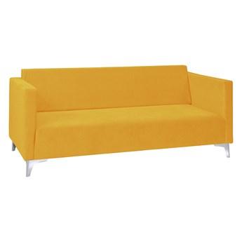 Sofa trójka SZAFIR żółta SOLO 257