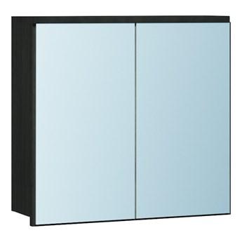 Szafka łazienkowa z lustrem LP6 wenge