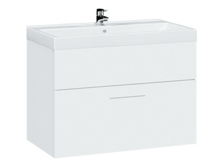Szafka pod umywalkę LUPO / TIPO LP2 biały połysk Wiszące Wysokość 46 cm Głębokość 34 cm Szerokość 60 cm Kategoria Szafki stojące