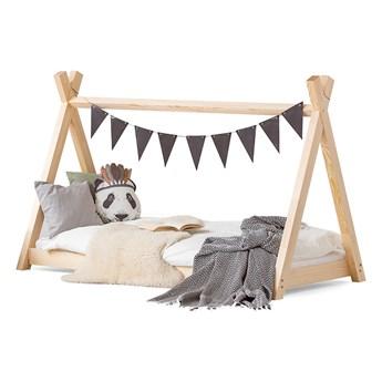 Łóżko drewniane 70x140 TIPI