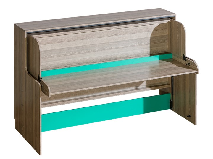 U16 Łóżko modułowe z biurkiem TIMO