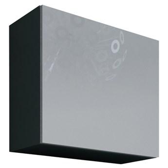 Szafka wisząca KWADRAT VIGO GREY B VG10 szary / biały połysk