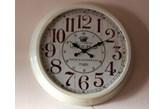 Biały wielki zegar