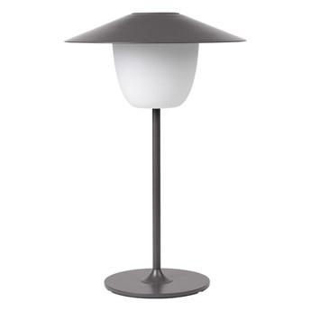Szara niska lampa led Blomus Ani Lamp