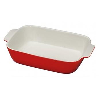 ceramiczna brytfanna, 30 x 19 cm, czerwona kod: KU-0712031430