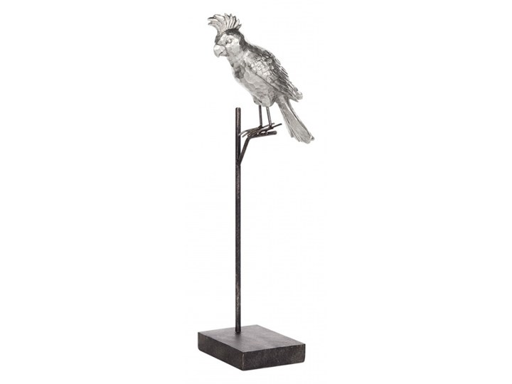 Figurka papuga srebrna COCKATOO kod: 4251682224345