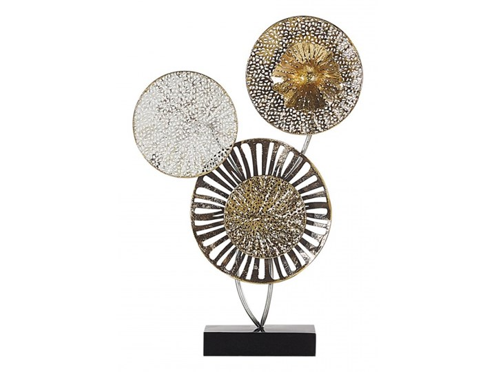 Dekoracyjna rzeźba metalowa złoto-srebrna URANIUM kod: 4251682236034 Kategoria Figury i rzeźby
