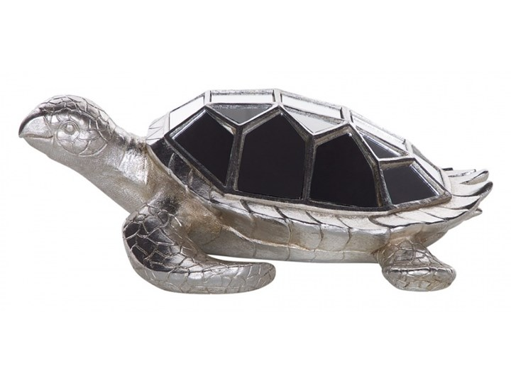 Figurka żółw lustrzany srebrna TORTOISE kod: 4251682224390