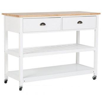 Wózek kuchenny biały NAVARINO kod: 4251682205573