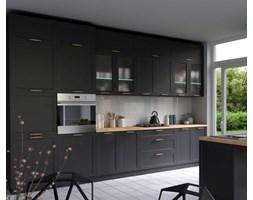 Kuchnia Navia MDF czarny mat - zestaw 360 cm