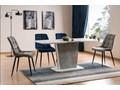 Stół Calipso 110x68 Beton Szerokość 110 cm Wysokość 76 cm Długość 110 cm  Kolor Beżowy
