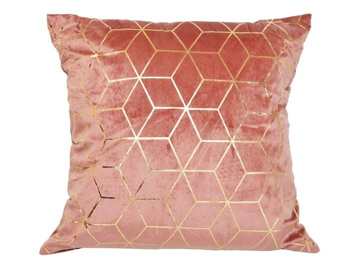 Różowa poduszka dekoracyjna Holemo 45x45 cm Poliester Pomieszczenie Sypialnia Kwadratowe Pomieszczenie Salon