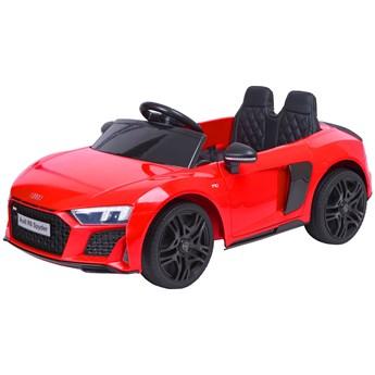 Samochodzik auto AUDI R8 SPYDER czerwony