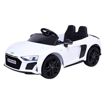 Samochodzik auto AUDI R8 SPYDER biały