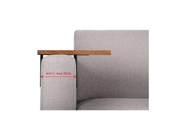 HELPER Stolik boczny do sofy Czekoladowy Stal Kolor Brązowy Drewno Kategoria Stoliki i ławy