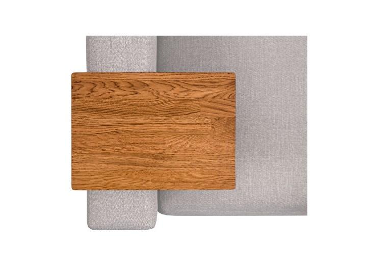 HELPER Stolik boczny do sofy Czekoladowy Stal Drewno Kolor Brązowy Kategoria Stoliki i ławy