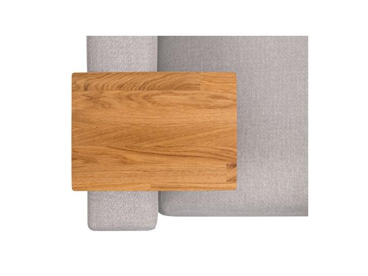 HELPER Stolik boczny do sofy Czekoladowy Rozmiar blatu 20x35 cm Stal Drewno Kategoria Stoliki i ławy