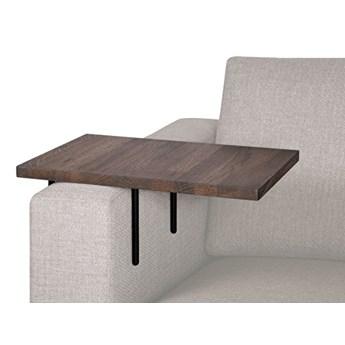 HELPER stolik boczny do sofy duży Czarny-dab