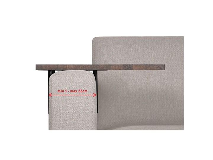 HELPER stolik boczny do sofy duży Czarny-dab Marmur Wysokość 22 cm Kategoria Stoliki i ławy Drewno Rozmiar blatu 35x45 cm