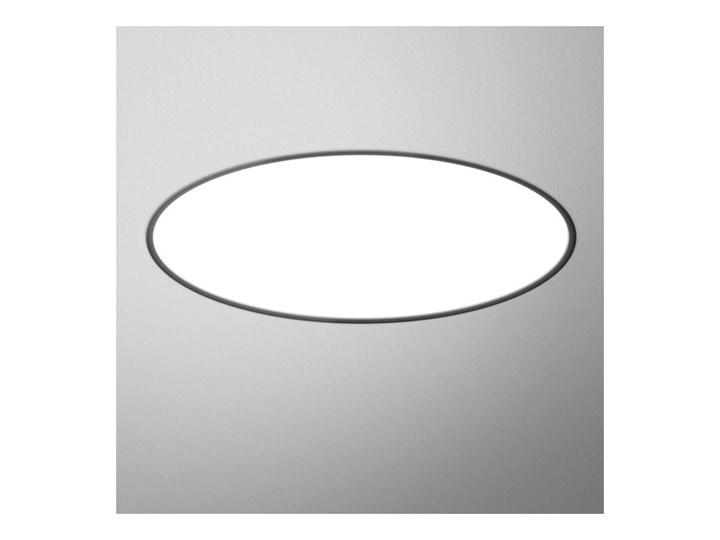 Oprawa wpuszczana BIG SIZE next round LED wpuszczany 124 cm Aqform 30154-A930-D9-DA-03 30154-A940-D9-DA-02, Warianty oprawy: Czarny mat, Temperatura b