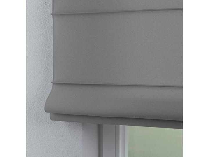 Roleta rzymska Capri, szary, szer.80 × dł.170 cm, Loneta Typ Roleta przeciwsłoneczna Kolor Biały